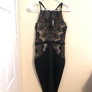New Black Lace Dress Windsor Size Small